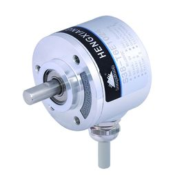Ketebalan 28mm Optical Rotary Encoder S38 Shaft Line Driver7272 Output
