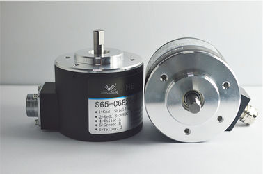S65 Solid Shaft Encoder Incremental Solid Poros Diameter 8mm Dengan Kabel Radial