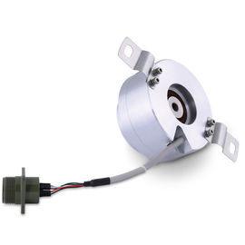 K80 Hollow Shaft, Encoder Tambahan, 1800 Pulse Incremental Rotary Encoder Untuk Mesin Pengemasan